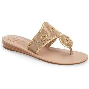 ⭐️ New in Box Jack Rogers Bronze sandals 8.5 ⭐️
